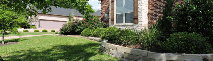 Example of Home Landscaping Central Texas