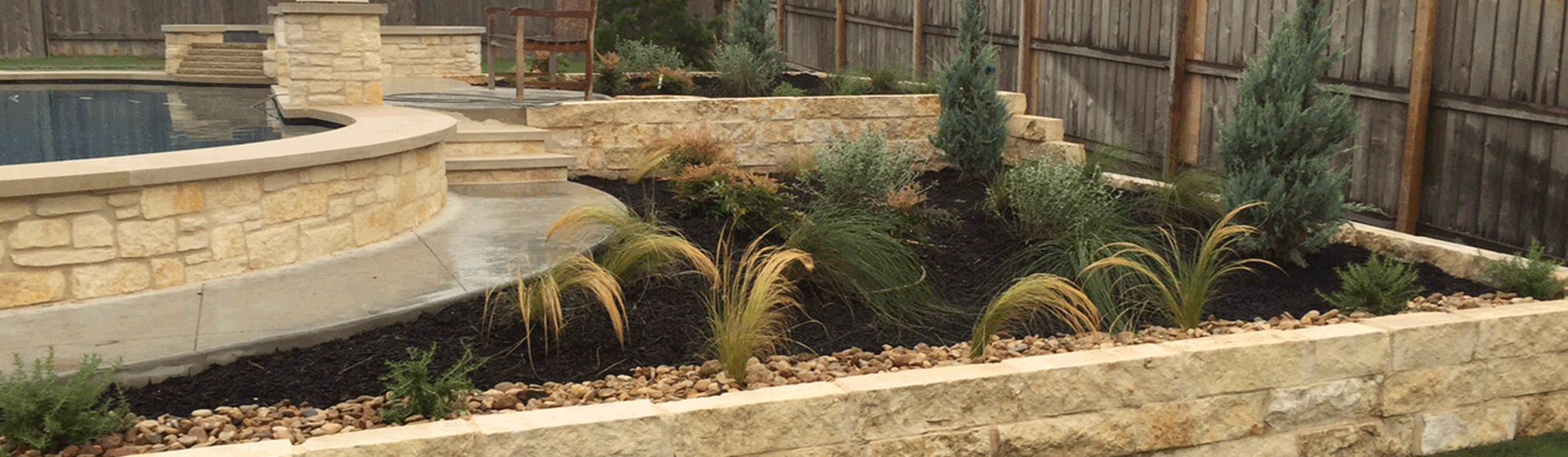 Pflugerville, TX Residential Landscaping Installation Example