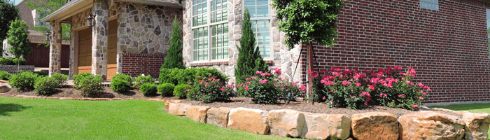 Example of Residential Landscaping Services Bryan/College Station, TX